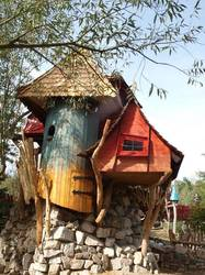 Rock Nest Adventure Night Tree House