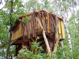 Tree House Hotel Germany Kulturinsel Einsiedel Judka Troll House