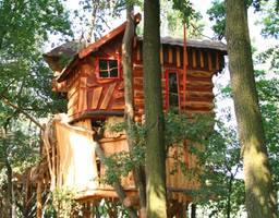 Tree House Hotel Adventure Night Germany Kulturinsel Einsiedel